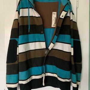 Men's vintage Armada zip up hoodie